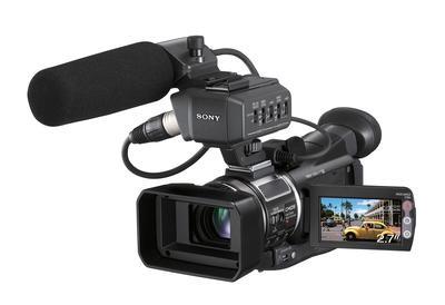 HVR-A1U 1/3-Inch Professional HDV Camcorder - OPEN BOX