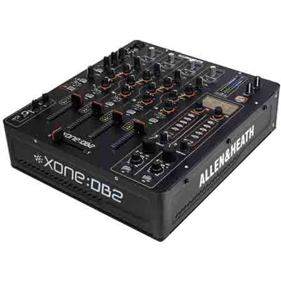 4-Channel Digital DJ Mixer with Effects and MIDI - XONE:DB2