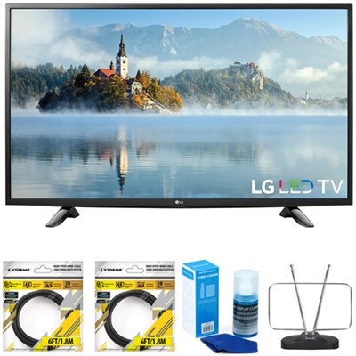 49` 1080p Full HD LED TV 2017 Model 49LJ5100 with Cleaning Bundle