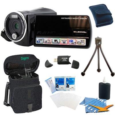 DNV900HD Night Vision 1080p HD 16MP Camcorder Bundle