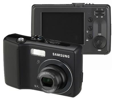 S730 7.2 MP Digital Camera (Black)
