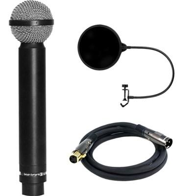 Legendary Hypercardioid Double Ribbon Microphone w/ Filter Bundle