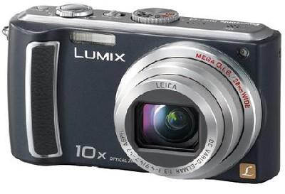DMC-TZ4K - Lumix 8.1 Megapixel Digital Camera (Black) w/ 2.5 inch LCD