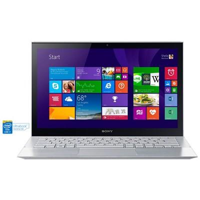 Pro 13 SVP1322DCXS 13.3` Touchscreen Silver Ultrabook - Intel Core i7-4500U Proc