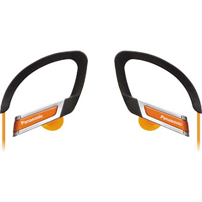 RP-HS220-D Inner Ear Clip Sports Earphones with Extension (Orange)