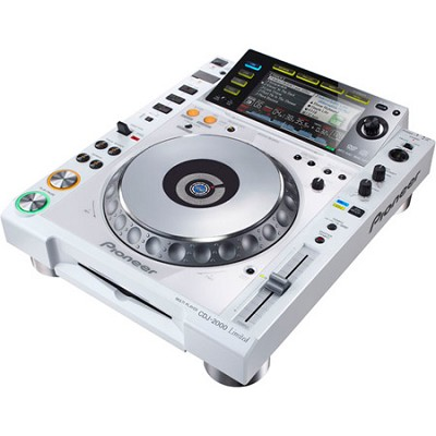 CDJ-2000W Professional Multi Player - White Limited Edition