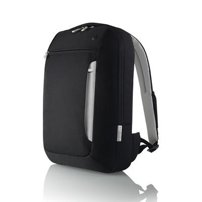 Slim Backpack (Black/Light Gray)