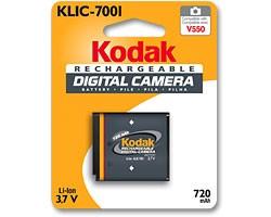 KLIC7001 720mAh Battery - Loose - no box
