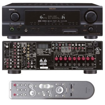 AVR-1907 - 7.1 or 5.1+2 Channel Home Theater Receiver (Black)