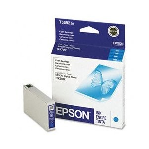 Cyan Ink Cartridge for Epson Stylus Photo RX700