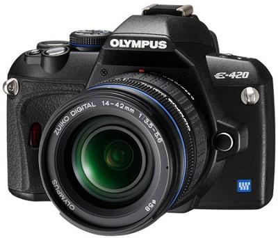 E420 DSLR With 14-42mm Lens