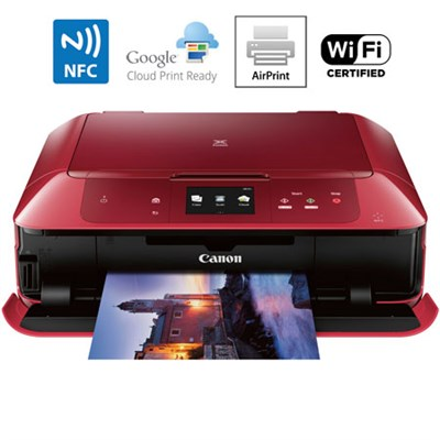 MG7720 Printer Scanner & Copier with Wi-Fi - Airprint & Cloud Print Ready (Red)
