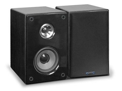 SPH6 Book Shelf Speakers (Pair) Black