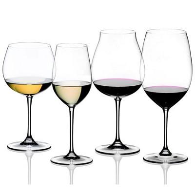 Vinum XL Wine Glasses Tasting Set, Set of 4, Grape Varietal