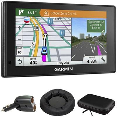010-01540-01 DriveSmart 60LMT GPS Navigator with GPS Bundle