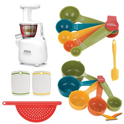 Silent Juicer NS-750 Upright Masticating Deluxe Bundle