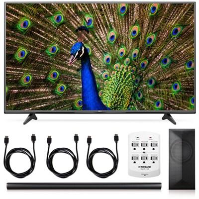 55UF6800 - 55-Inch 120Hz 4K Ultra HD Smart LED TV + LAS751M 4.1 Channel Soundbar