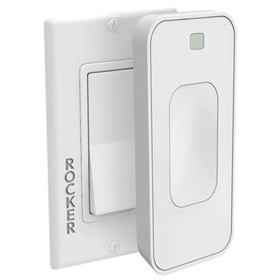 Motion Activated Instant Smart Light Switch Rocker Toggle That Listens (White)