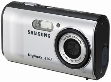 Digimax A503 5.0 mega-pixel Digital Camera (Silver)