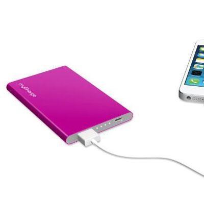 RAZORPLUS Portable Chrgr Pink