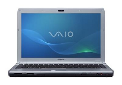 VAIO VPCS132FX/S 13.3` Notebook PC - Silver Intel Core i3-380M