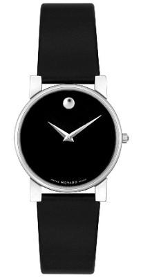 0604231 - Women's Moderna Black Leather & Dial - OPEN BOX