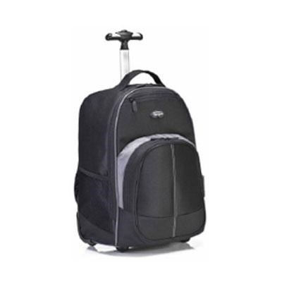 16` Compact Rolling Backpack in Black - TSB750US
