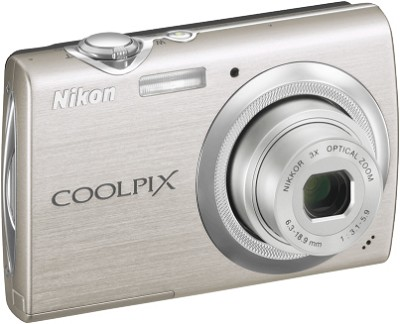 COOLPIX S230 Digital Camera (Warm Silver)