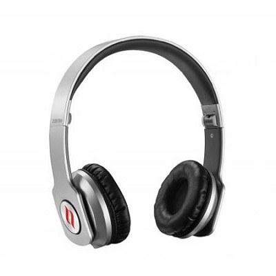 ZORO HD True Sound Headphones with Inline Mic and Answer/End Button Silver