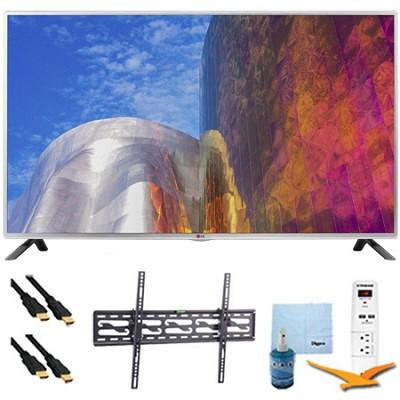 50LB5900 - 50-Inch Full HD 1080p 120hz LED HDTV Plus Tilt Mount & Hook-Up Bundle