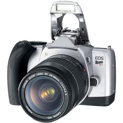 EOS REBEL K2 EF 28-80MM II KIT usa warranty