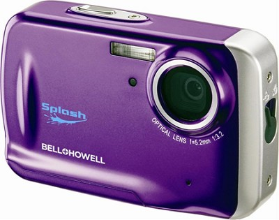 WP5 Waterproof 12.2 MP Purple Digital Camera w/ 5X Zoom, 2.7 Inch LCD