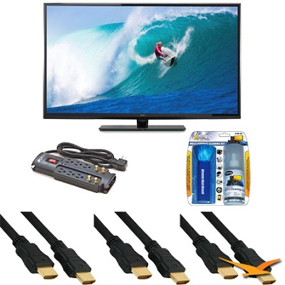 SE50UY04 - 50-Inch 4K 120Hz LED Ultra-High-Definition TV Bundle