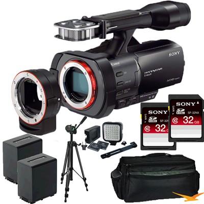 NEX-VG900 Full-Frame Interchangeable Lens HD Camcorder ULTIMATE BUNDLE