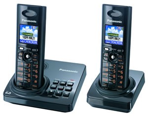 KX-TG8232B DECT 6.0  ( 2 Handsets Included )