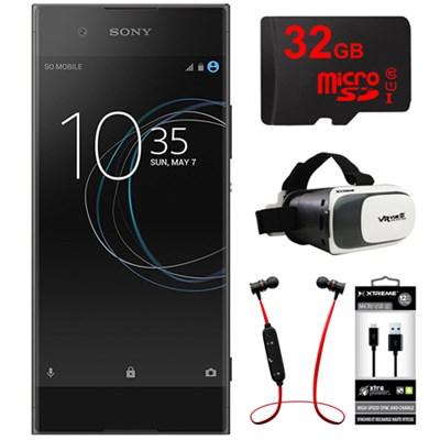XA1 16GB 5-inch Smartphone, Unlocked - Black w/ 32GB Bundle
