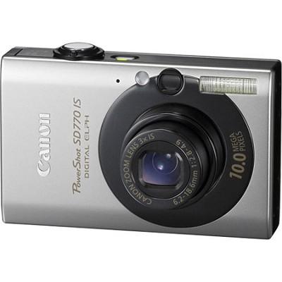 Powershot SD770 IS 10MP Digital ELPH Camera (Black)