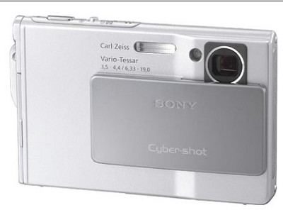 Cyber-shot DSC-T7 Digital Camera - Silver (after holiday sale)