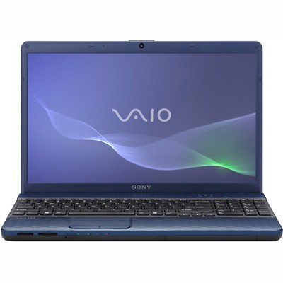 VAIO VPCEH24FX - 15.5 Inch Laptop Core i3-2330M Processor (Blue)