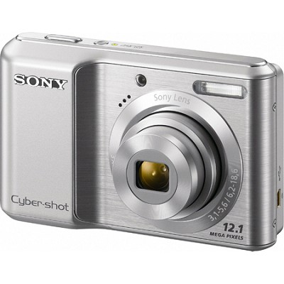 Cyber-shot DSC-S2100 12MP Silver Digital Camera