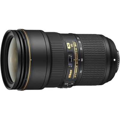 24-70mm f/2.8E ED VR AF-S NIKKOR Lens for Nikon Digital SLR Cameras, Refurbished