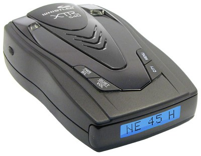 XTR-540 Cordless Radar Detector with Digital Compass