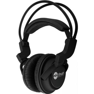 NX22R-11949 Hi-Fi Stereo Headphones with In-Line Mic - Black