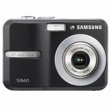S860 8MP 2.4` LCD Digital Camera (Black)