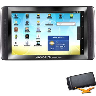 70 250 GB Internet Tablet with Android with Case