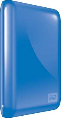 My Passport Essential 640GB Ultra-Portable USB Drive w/ Auto Backup (Blue)