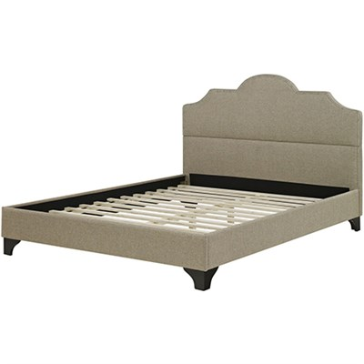 Hanover Paris Upholstered Queen Bed Frame