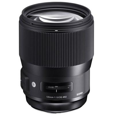135mm F1.8 DG HSM ART Full Frame Telephoto Lens for Nikon Mount (240-955)