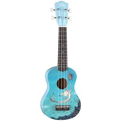Aurora Mermaid Half-Size Guitar