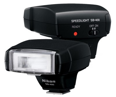 SB-400 AF Speedlight Flash for Nikon Digital SLR Cameras - REFURBISHED